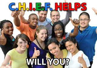 Donate - C.H.I.E.F. Helps - Will You?