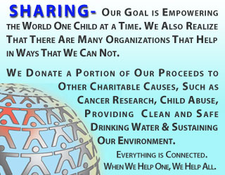 C.H.I.E.F. - Sharing Helps Everyone.
